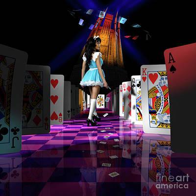 Alice In Wonderland Print by Oleksiy Maksymenko