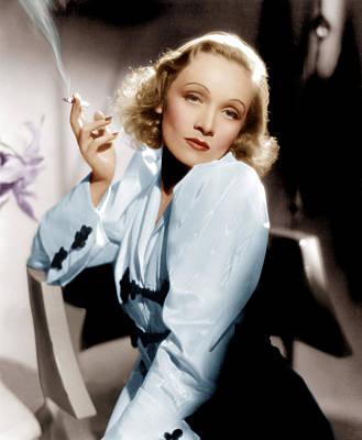 Angel, Marlene Dietrich, 1937 Print by Everett