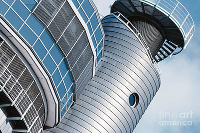 Cities Photograph - Architectural Detail Of A Modern Building In Hamburg, Germany by Dani Prints and Images