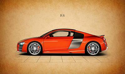 German Classic Cars Photograph - Audi R8 by Mark Rogan