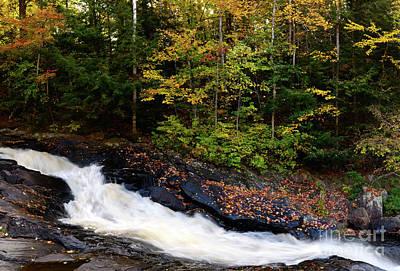 Autumn In Arrowhead Provincial Park Print by Oleksiy Maksymenko