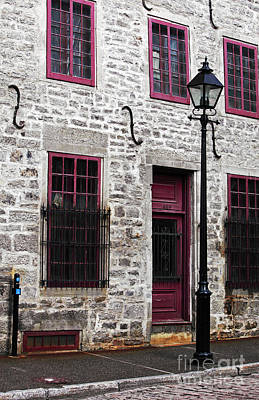 Old Montreal Photograph - Back In Time by John Rizzuto