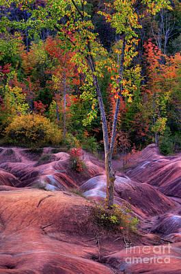 Nature Photograph - Badlands by Oleksiy Maksymenko