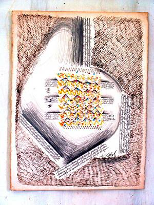 Song Of The Heart Print by Al Goldfarb