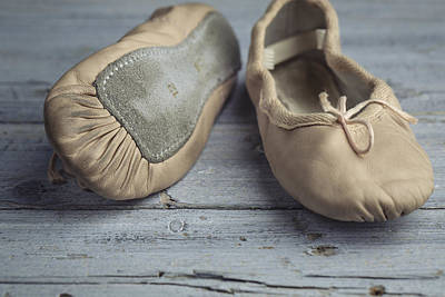 Leather Photograph - Ballet Shoes by Nailia Schwarz