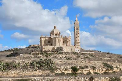 Malta Photograph - Basilica Ta Pinu - Gozo by Joana Kruse
