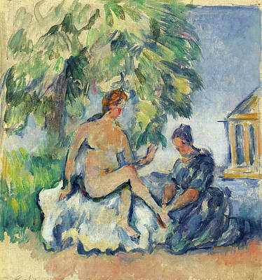 Bathsheba Painting - Bathsheba by Paul Cezanne