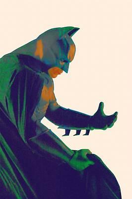 Batman Digital Art - Batman Begins Poster by Egor Vysockiy