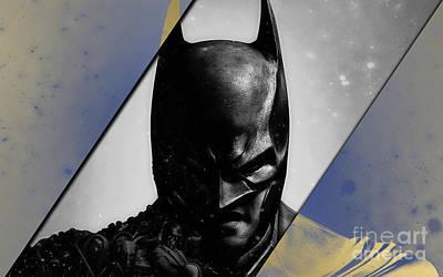Batman Mixed Media - Batman Collection by Marvin Blaine