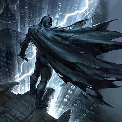2012 Digital Art - Batman The Dark Knight Returns 2012 by Caio Caldas