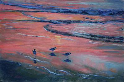 Beach Combers Original by Billie Colson
