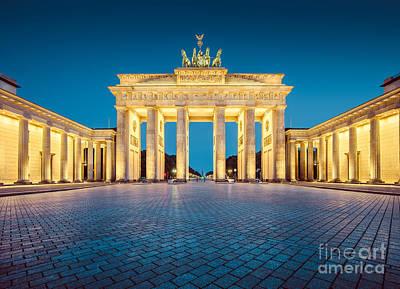 Berlin Brandenburg Gate Print by JR Photography