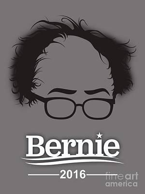 Bernie Sanders Print by Marvin Blaine