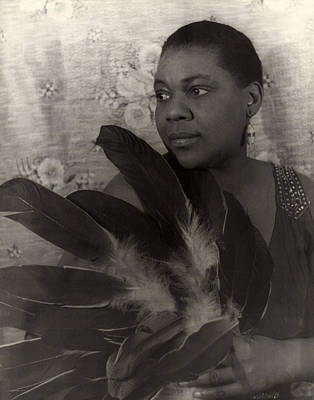 Earrings Photograph - Bessie Smith, American Blues Singer by Everett