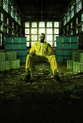 Horror Digital Art - Breaking Bad 2008 by Caio Caldas