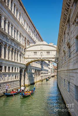 Piazza Mixed Media - Bridge Of Sighs by Svetlana Sewell