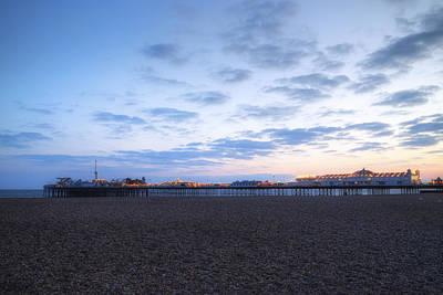 Brighton At Night Print by Joana Kruse