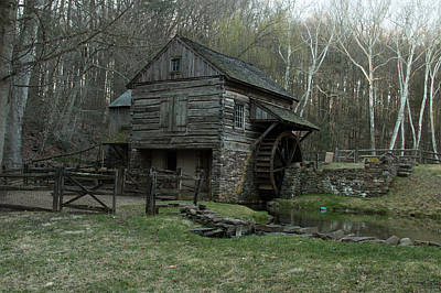 Solebury Photograph - Bromley's Mill by Roland Kemler