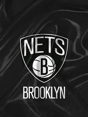 Brooklyn Nets Print by Afterdarkness