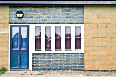 Building Exterior Print by Tom Gowanlock
