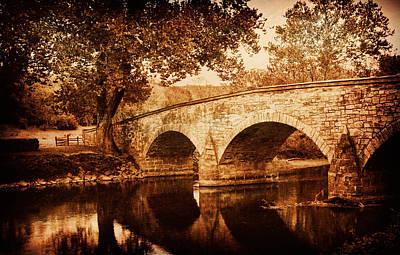 Burnside Bridge Print by Mick Burkey