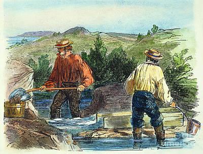 49er Photograph - California Gold Rush by Granger