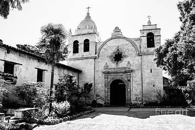 Photograph - Carmel Mission by Scott Pellegrin