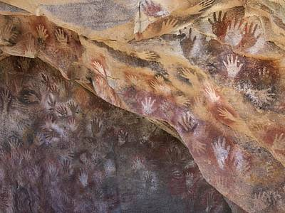 Cave Of The Hands, Argentina Print by Javier Truebamsf