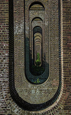 Train Photograph - Chappel Viaduct by Martin Newman