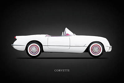 Car Photograph - Chevrolet Corvette by Mark Rogan