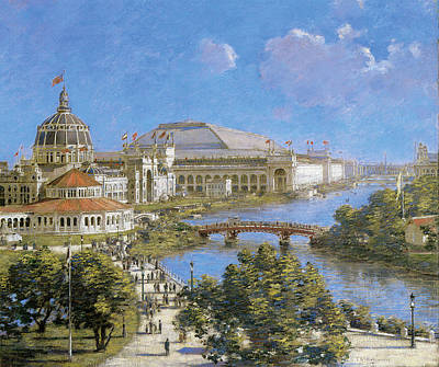 Chicago Columbian Exposition Print by Theodore Robinson