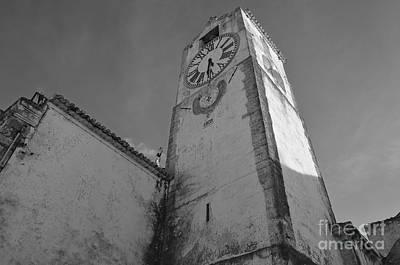 Church Of Saint Mary In Tavira. Portugal Print by Angelo DeVal