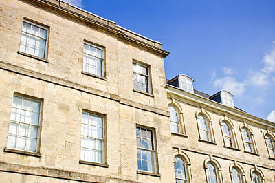 Cirencester Buildings Print by Tom Gowanlock