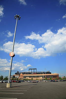 New York Baseball Parks Photograph - Citi Field - New York Mets by Frank Romeo