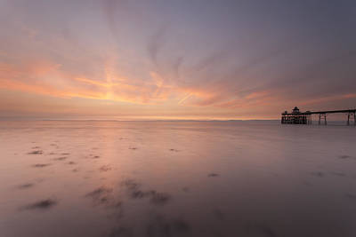 Clevedon Sunset Print by Don Hooper