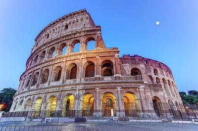 Photograph - Coliseum, Roma, Italy by Elena Duvernay