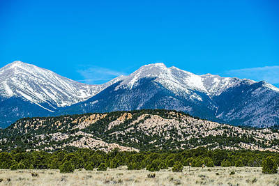 Mt Harvard Photograph - Colorado Roky Mountains Vista Views by Alex Grichenko