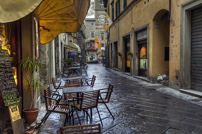 Tuscan Dusk Photograph - Cortona Tuscany by Al Hurley
