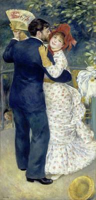 Pierre-auguste Renoir Painting - Country Dance by Pierre-Auguste Renoir