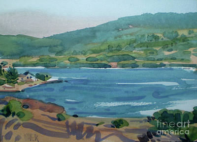 Crystal Springs Print by Donald Maier