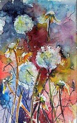 Dandelion Print by Kovacs Anna Brigitta