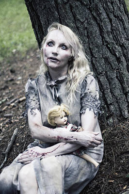 Zombie Photograph - Dead Girls Do Reflect by Karen StClaire