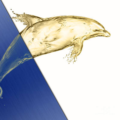 Dolphin Mixed Media - Dolphin Collection by Marvin Blaine