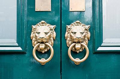 Door Handles Print by Tom Gowanlock