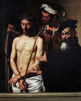 Redeemer Painting - Ecce Homo by Caravaggio
