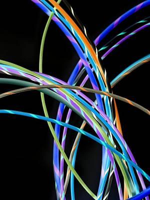 Electrical Wires Print by Tek Image