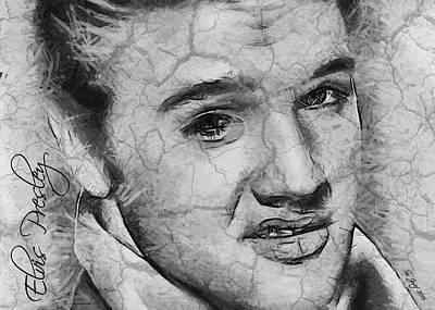 Shop Painting - Elvis Presley  by Sir Josef Social Critic - ART