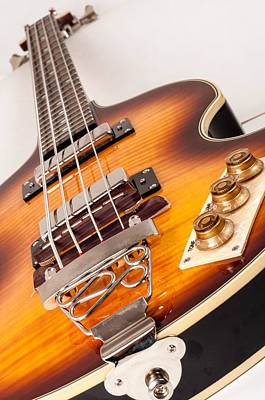 Epiphone Guitar Photograph - Epiphone Viola Bass Guitar by Classic Visions