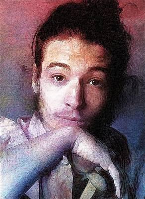 Ben Affleck Digital Art - Ezra Miller by Best Actors