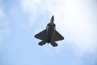 Flight Photograph - F-22 Raptor by Sebastian Musial
